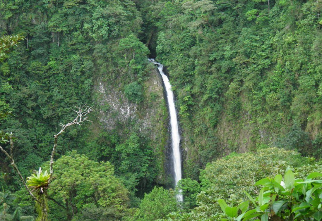 Costa Rica, La Fortuna Vattenfall