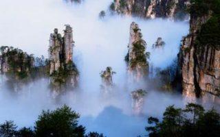 Kina, Wulingyuan nationalpark, Hunan