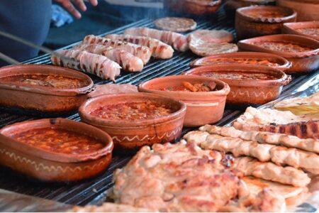 Nordmakedonien, Ohrid, äta