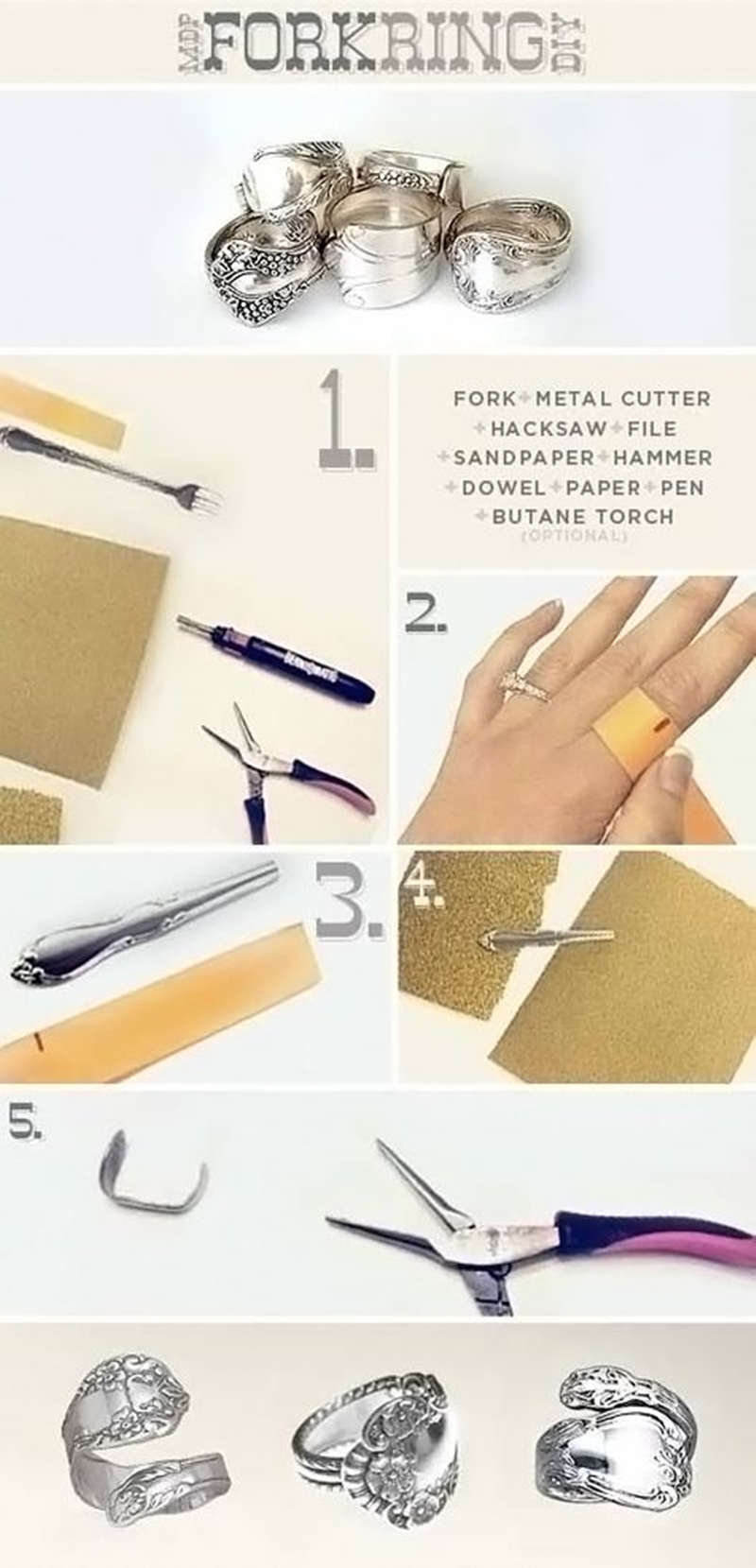 How To Make A Twig Ring