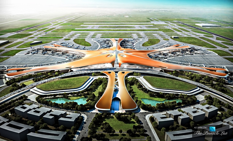 Beijing International Airport i Daxing
