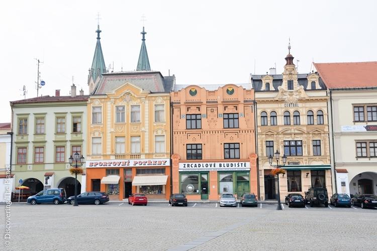 Tjeckien, Komeritz 1
