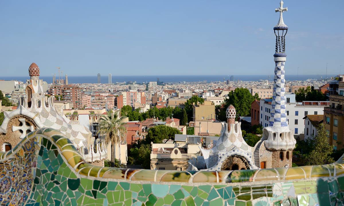 Året, Barcelona, Park Guell