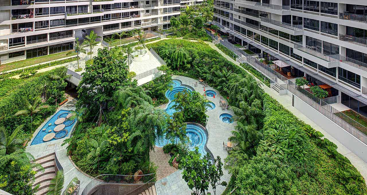 Singapore, The Interlace (2)