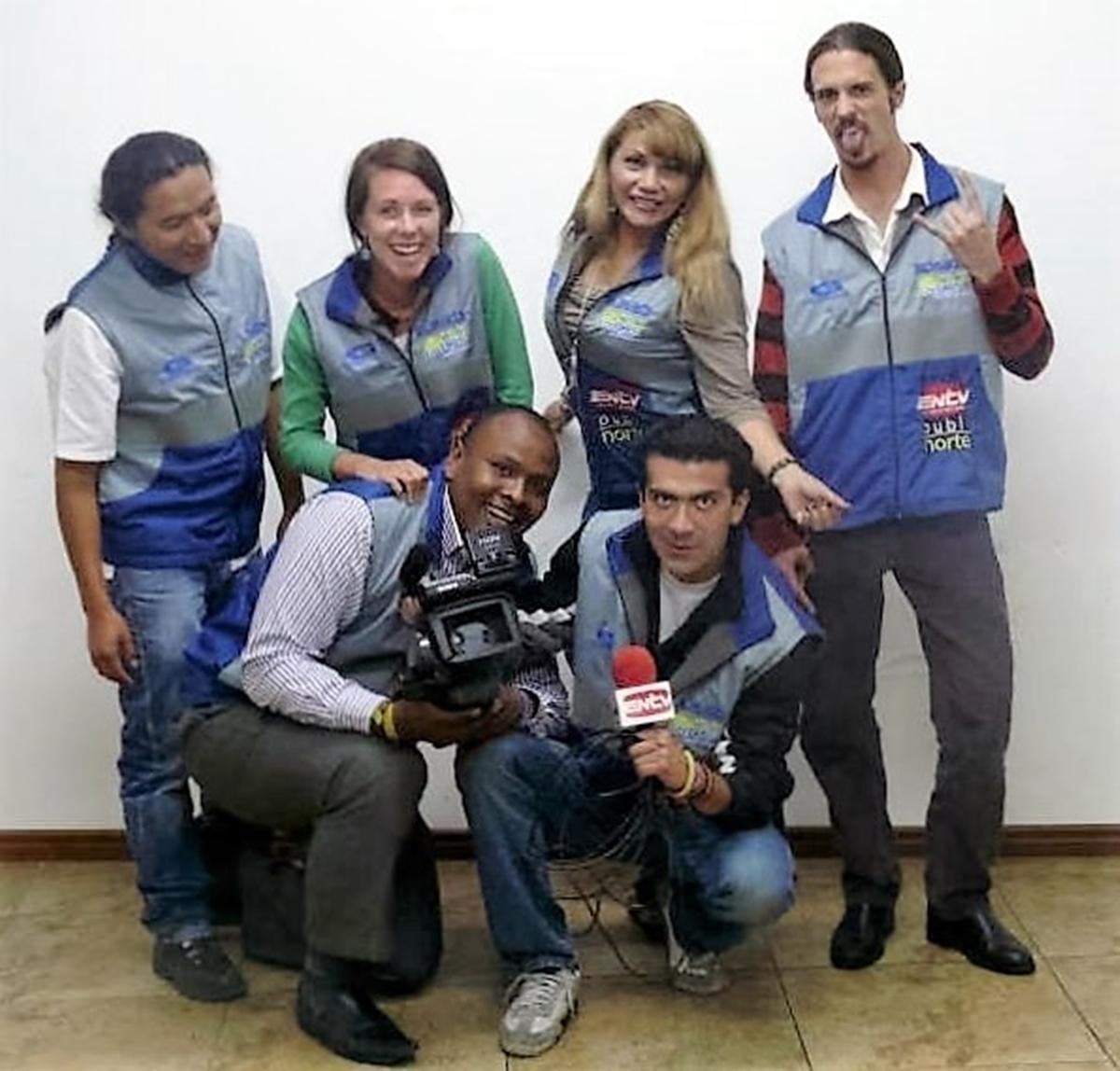 Ecuador, Delar av redaktionen på El Norte