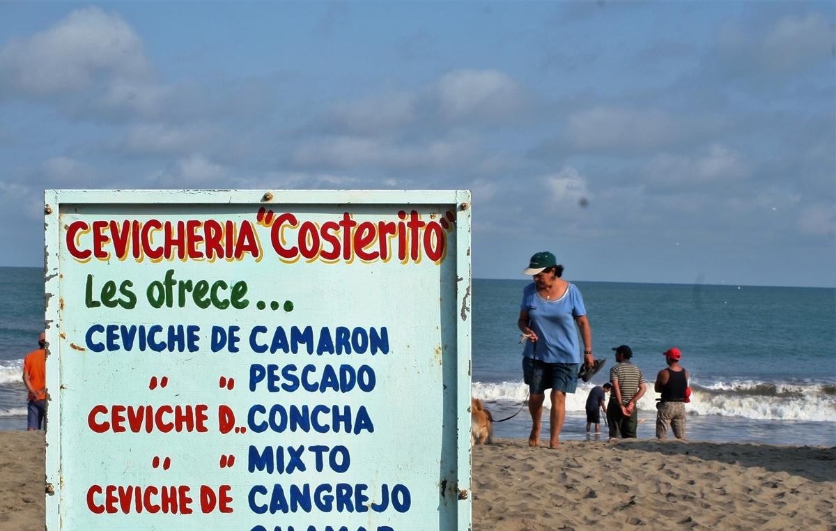 Ecuador, Färskt från havet till lunch