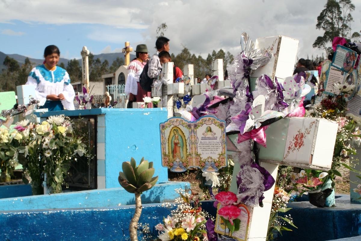 Ecuador, Kyrkogård i Ibarra