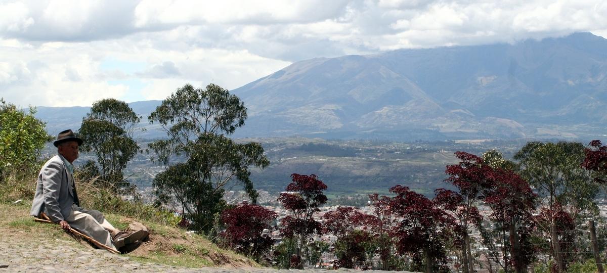 Ecuador, Utsikt över Ibarra