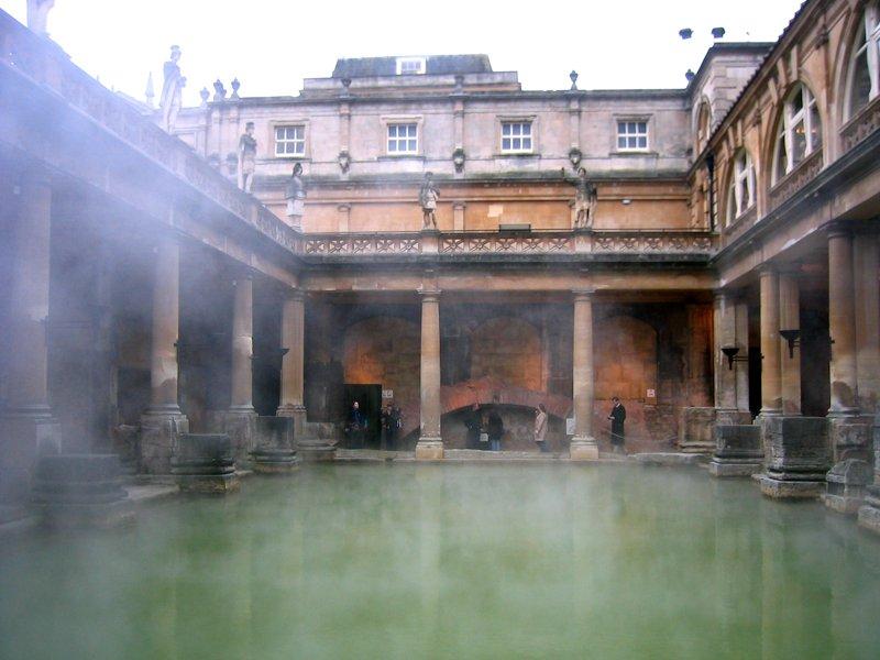 Storbritannien, roman_bath