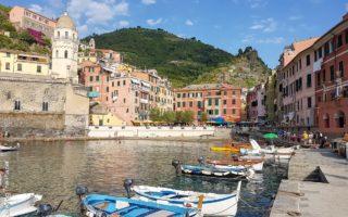 Italien, Cinque Terre, Vernazza