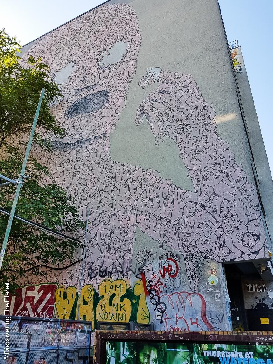 Tyskland, Berlin, Graffiti-12