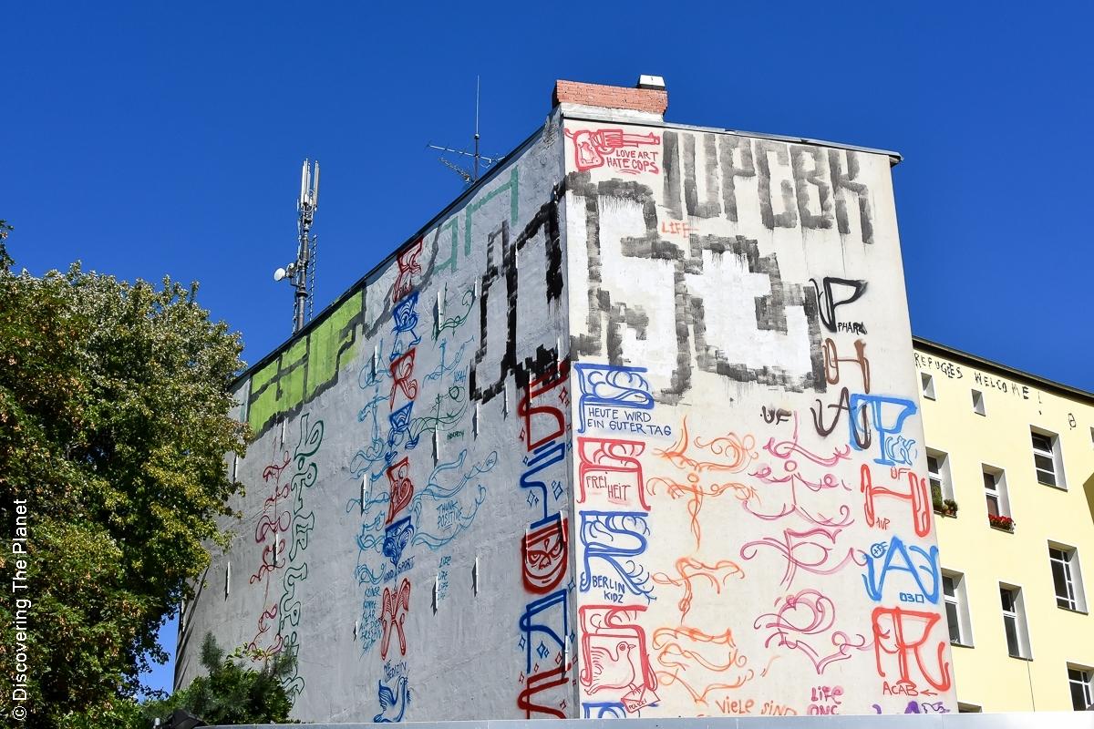 Tyskland, Berlin, Graffiti-13