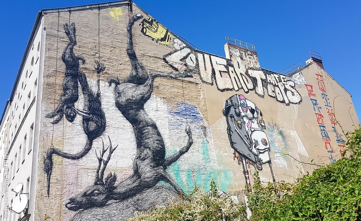 Tyskland, Berlin, Graffiti-14