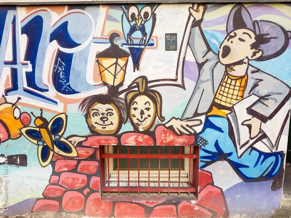 Tyskland, Berlin, Graffiti-15