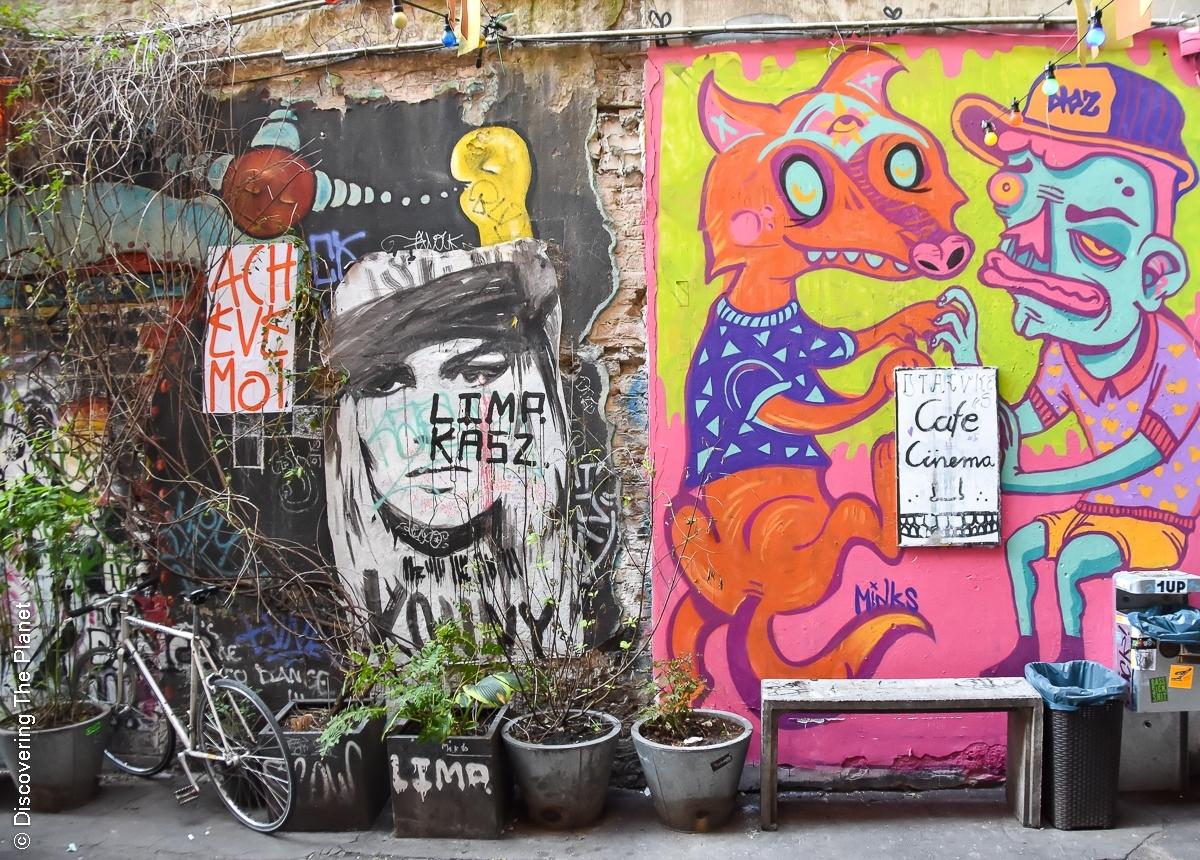 Tyskland, Berlin, Graffiti-2