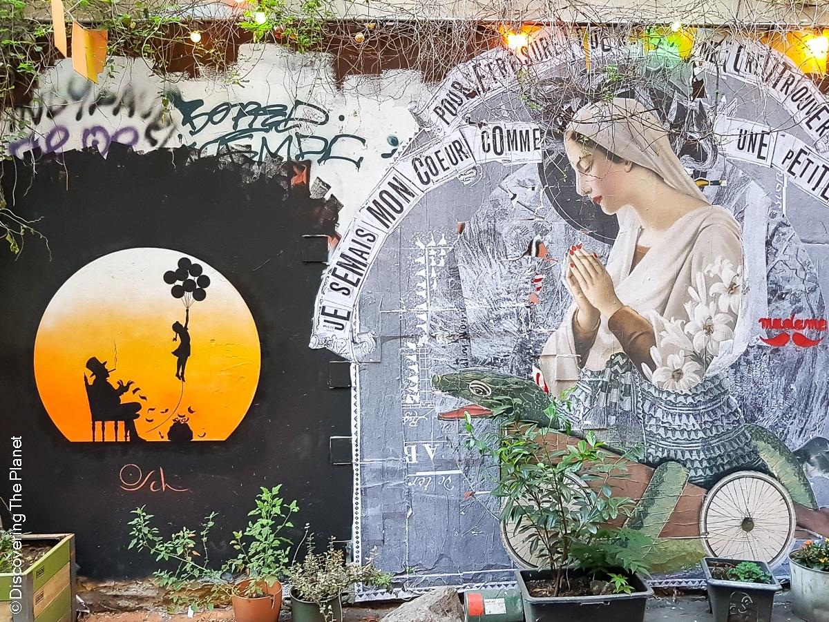 Tyskland, Berlin, Graffiti-3