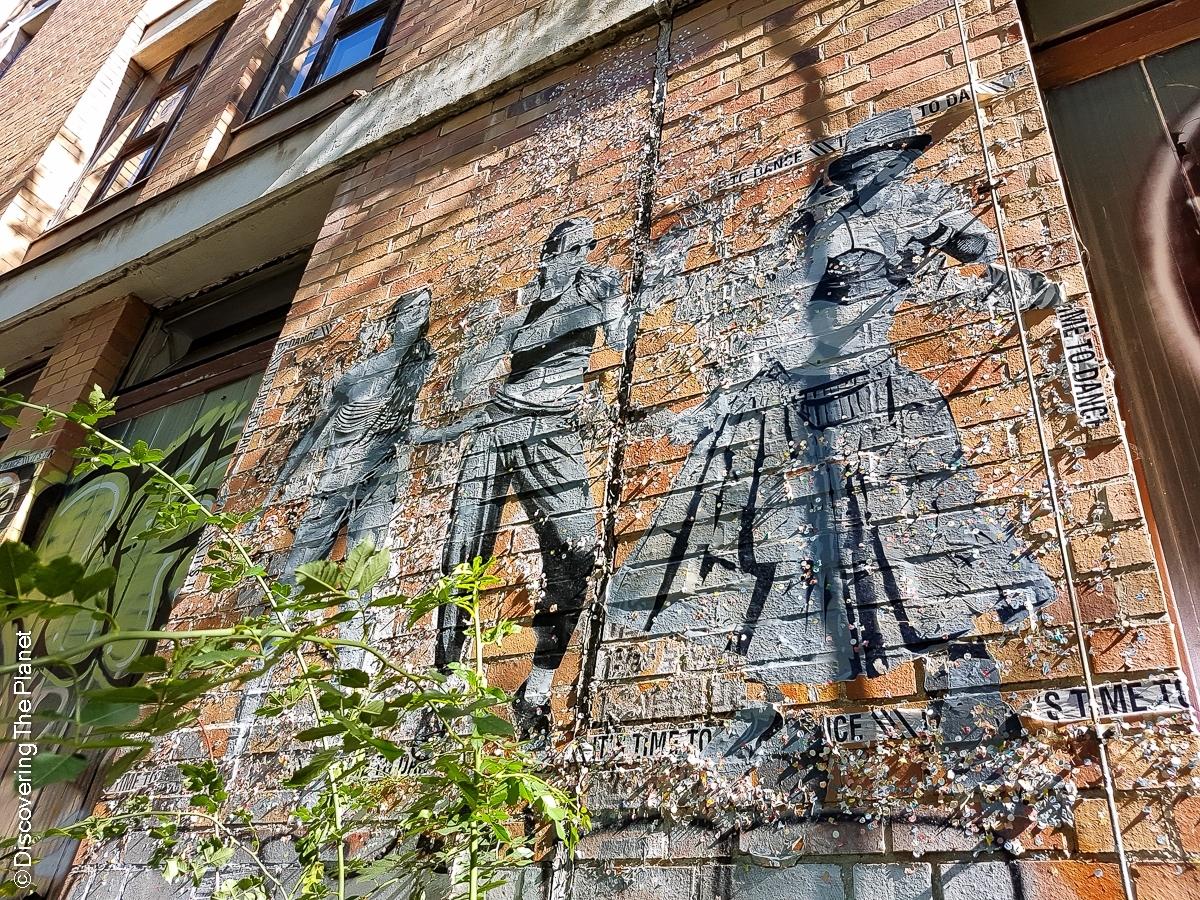 Tyskland, Berlin, Graffiti-5