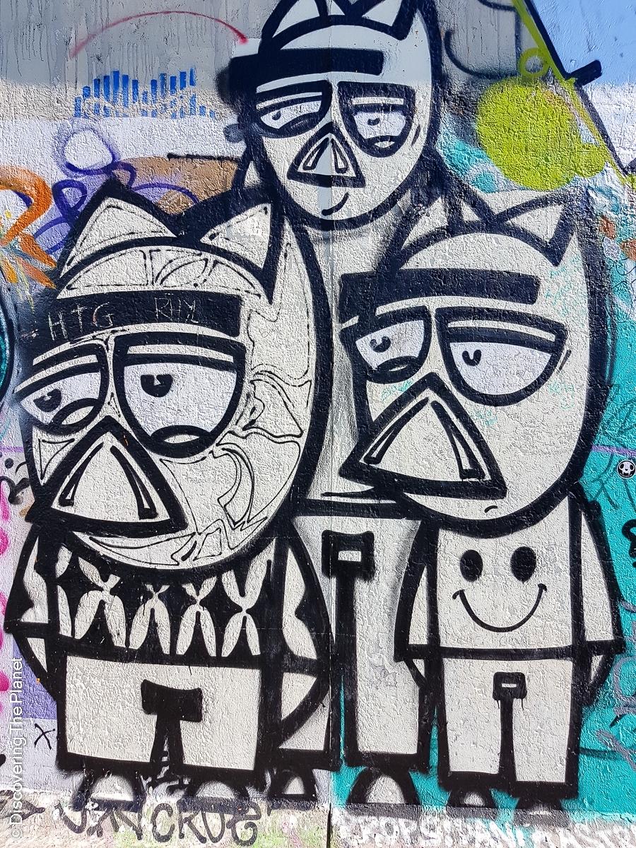 Tyskland, Berlin, Graffiti-9