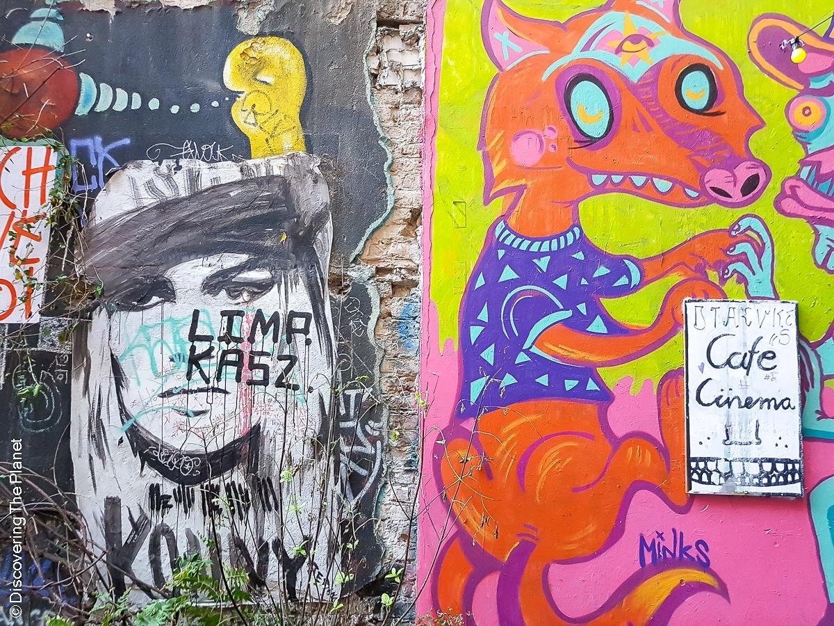 Tyskland, Berlin, Graffiti