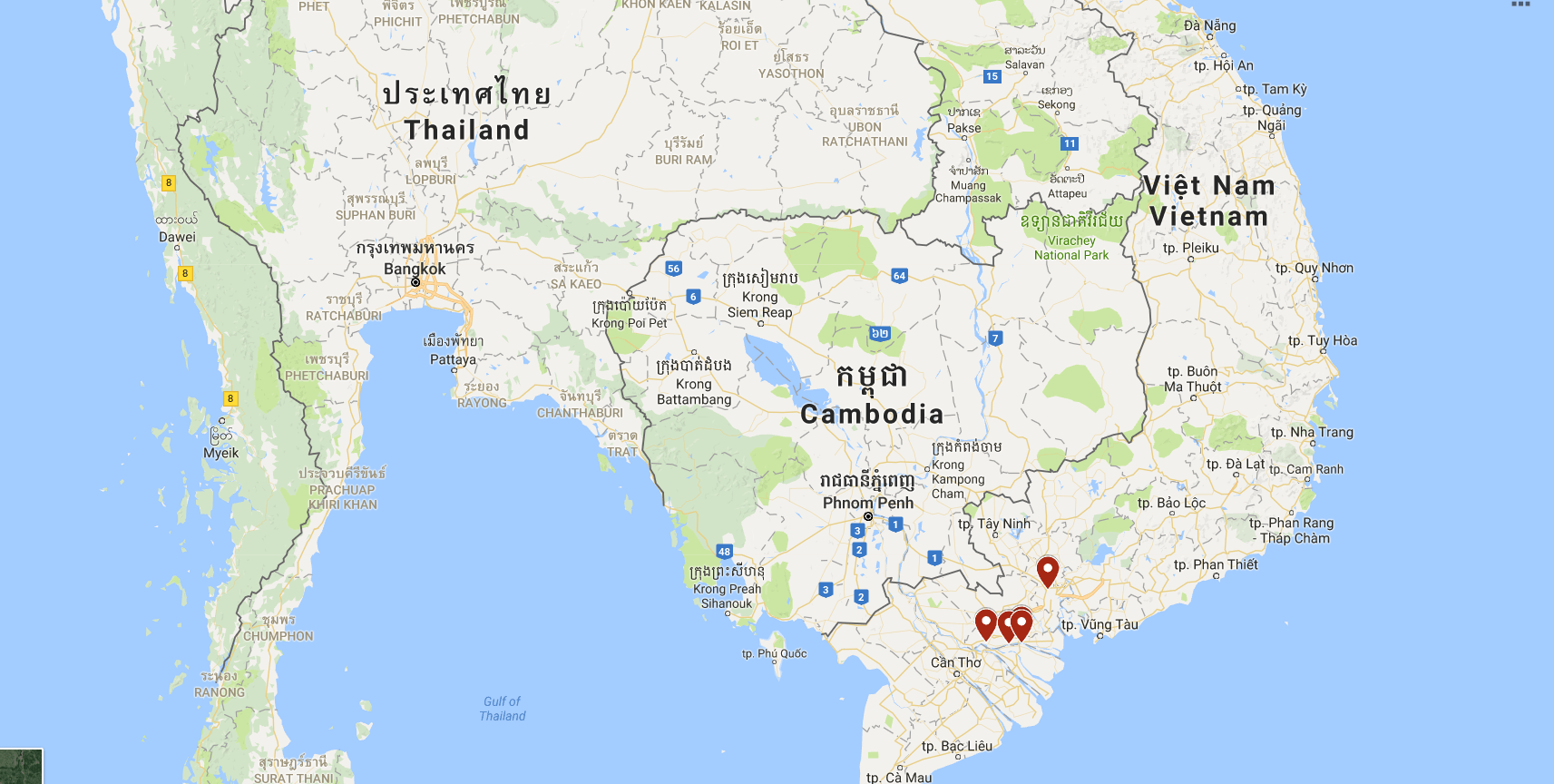 Vietnam, Ben Pre
