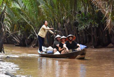 Vietnam, Mekong, Båttur