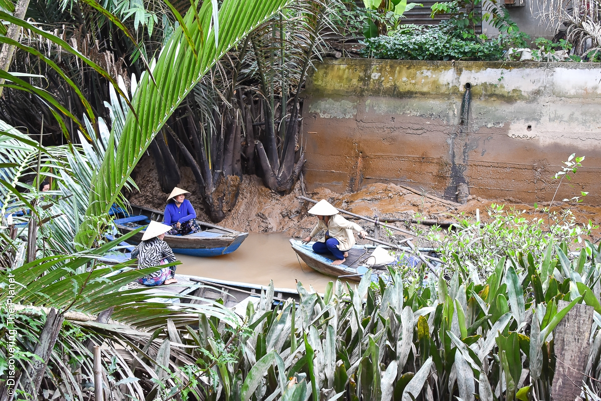 Vietnam, Mekong, Båttur (1)