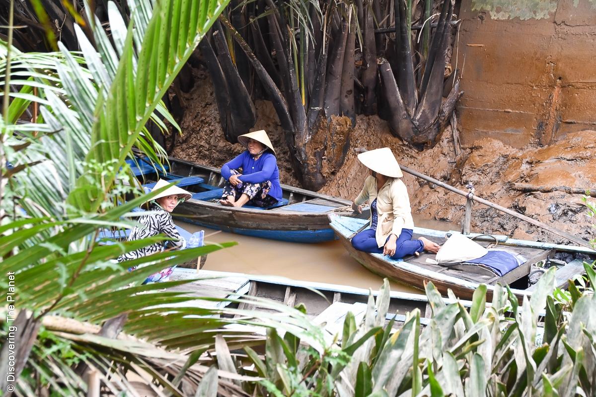 Vietnam, Mekong, Båttur (2)