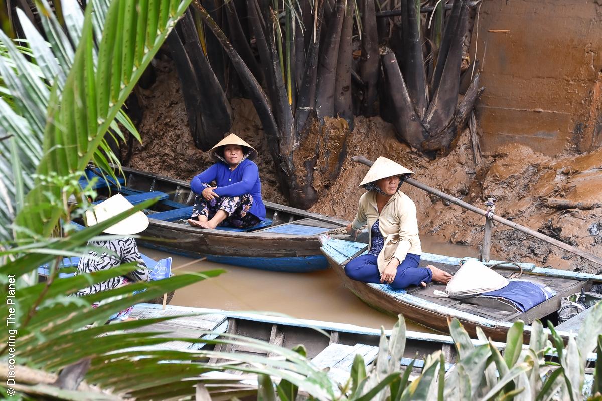 Vietnam, Mekong, Båttur (3)