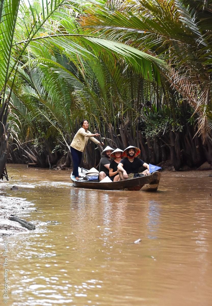 Vietnam, Mekong, Båttur (7)