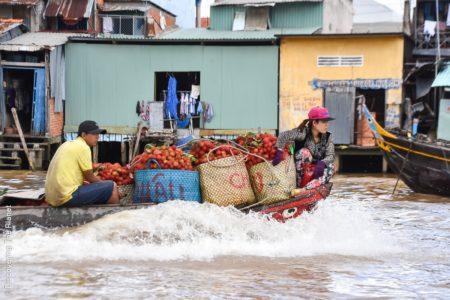 Vietnam, Mekong, Cai Be