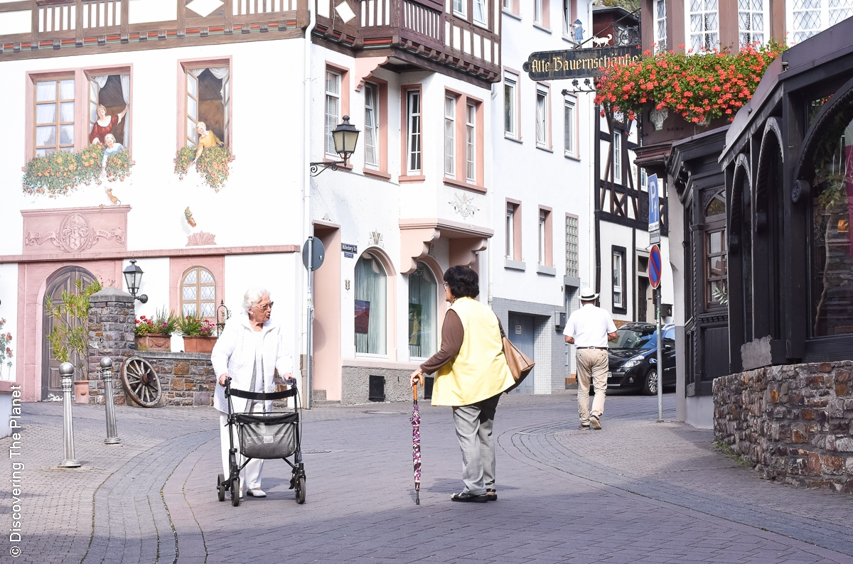 Assmanshausen och hur man spenderar en hel dag i en liten tysk by ...