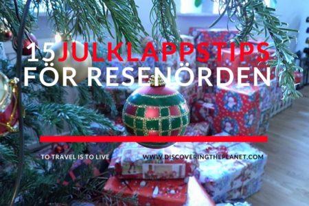julklappstips för de som gillar att resa