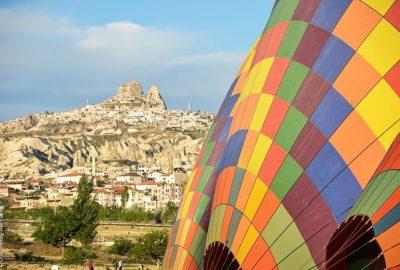 Turkiet, Kappadokien, Luftballong