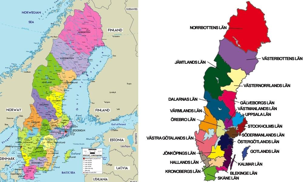 Karta Skane Och Danmark.21 Av Sveriges Roligaste Nojesparker Och Djurparker Discovering