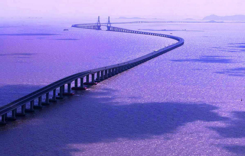 Bildresultat för Danyang-Kunshan Grand Bridge
