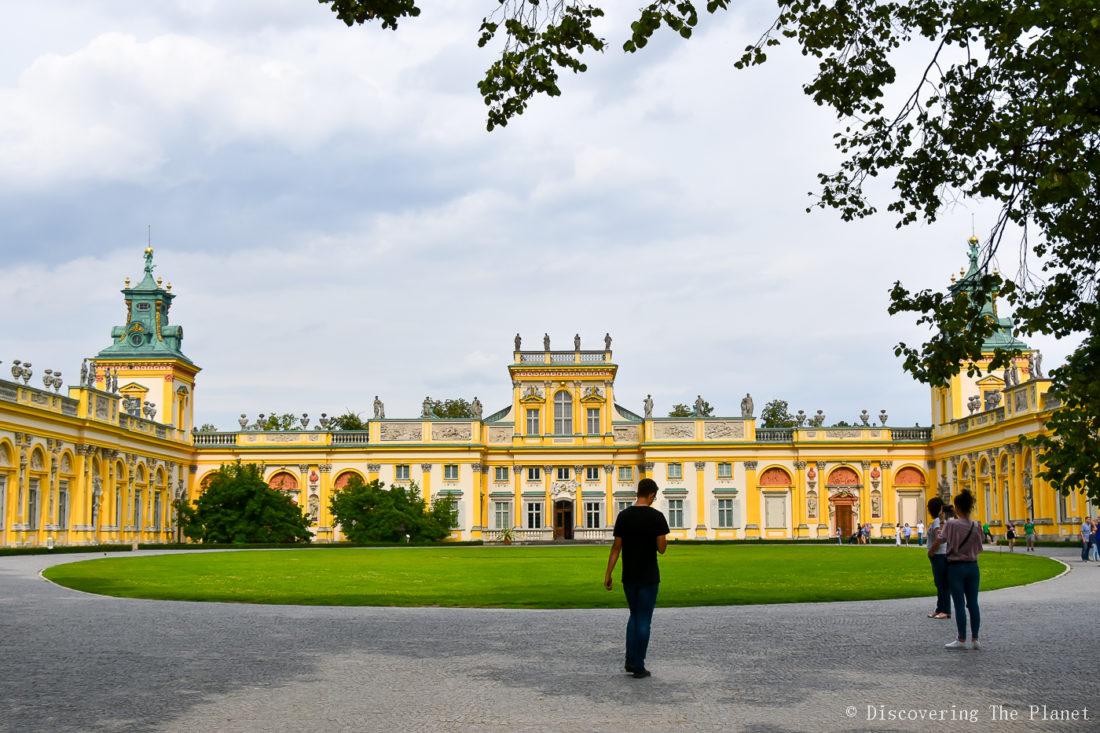 Polen, Warszawa, Wilanow Palace