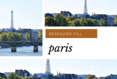 Reseguide till Paris