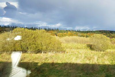 Storbritannien, Skottland, Tågbilder