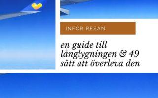 En guide till långflygningen