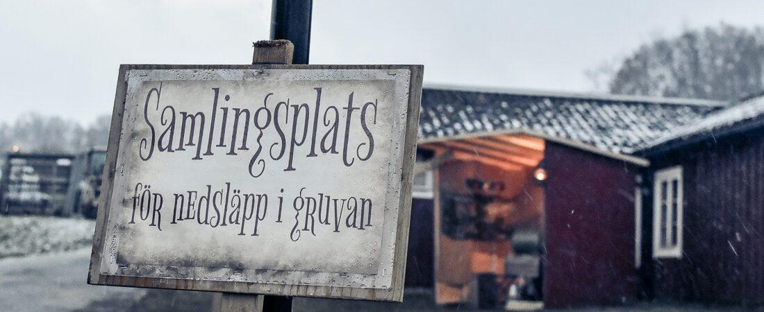 Sverige, Skåne, Tykarpsgrottan, julmarknad
