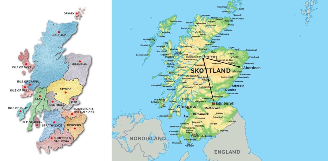 Karta Pa Skottland Karta 2020