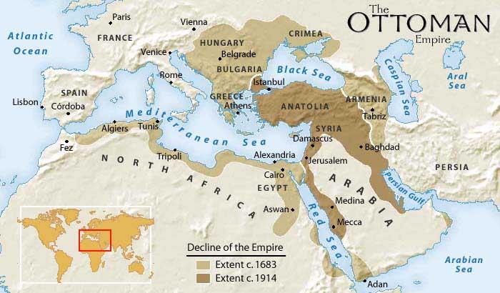 Äventyrare, Ottomanska Riket