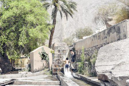 Oman, Nizwa, Falaj Al Khatamain
