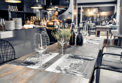 Lettland, Riga, Garage Restaurant