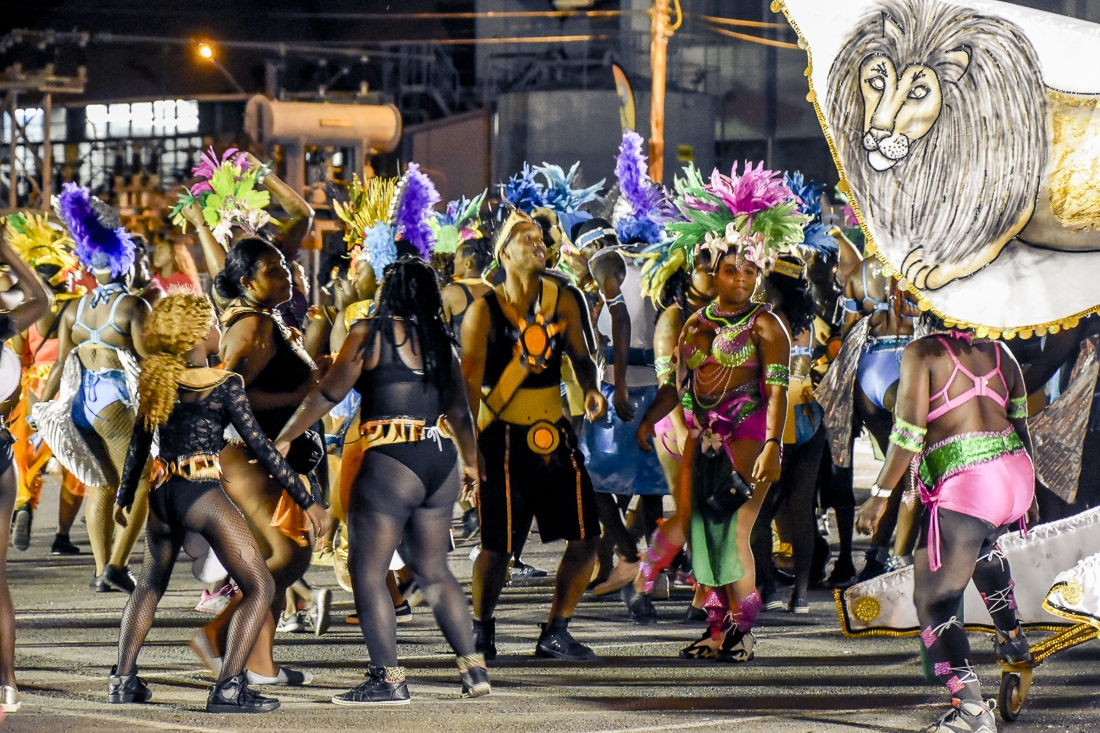 Tobago, Scarborough, Carnival J´Ouvert