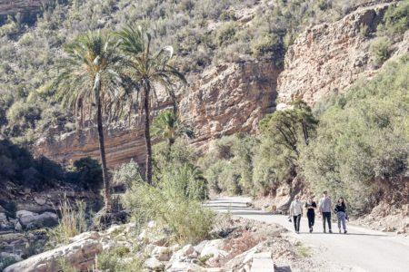 Marocko, Agadir, Immouzer, Paradise Valley
