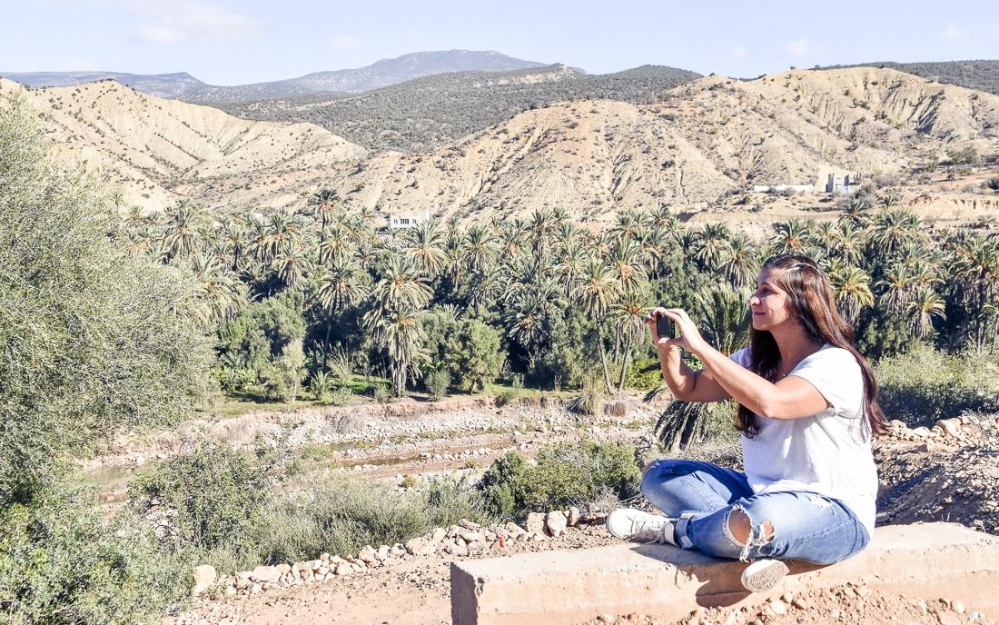 Marocko, Immouzer, Paradise Valley