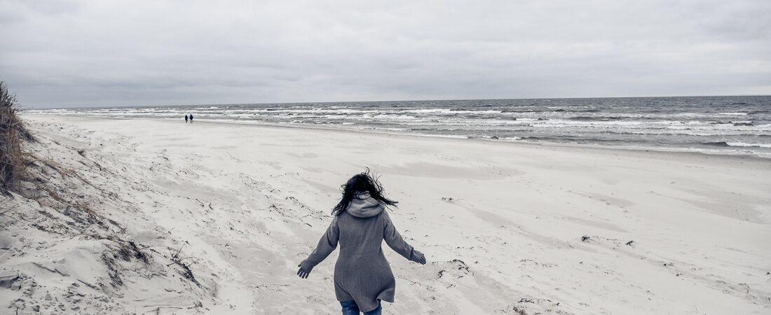 Skåne, Österlen, Sandhammaren, stränderna
