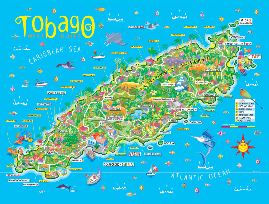 Tobagos Stränder