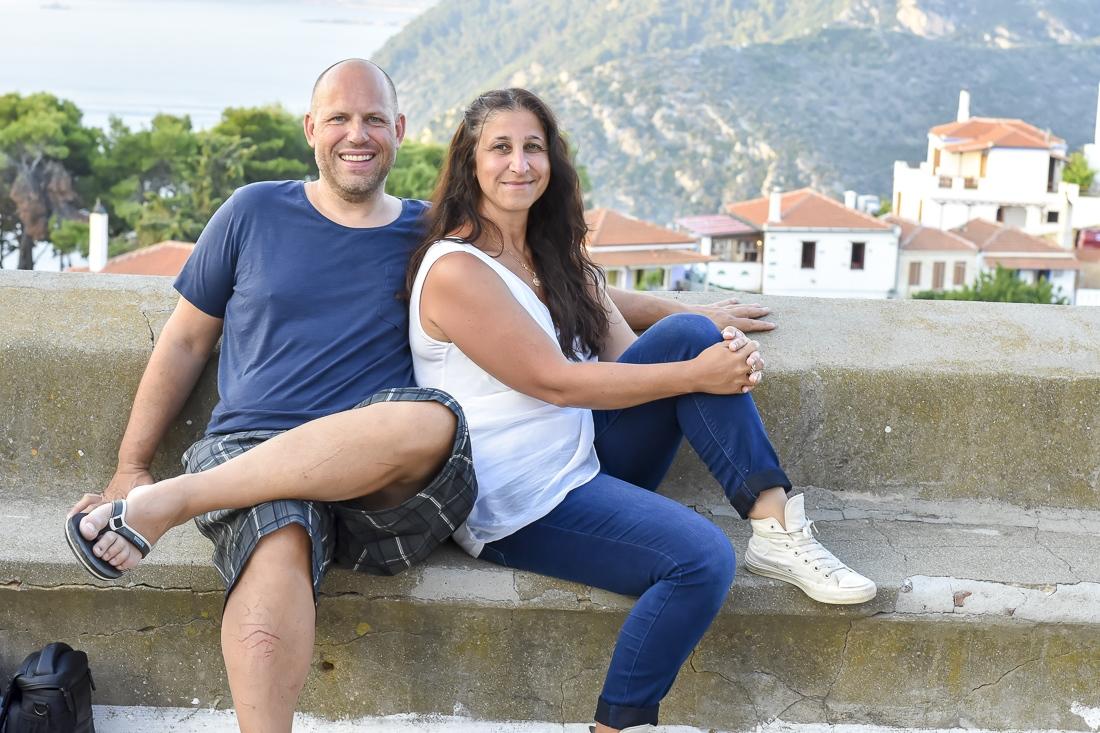 Grekland, Alonissos, Gamla Stan Chora